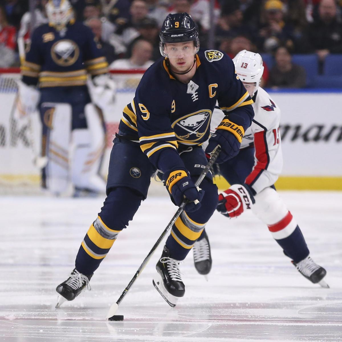 Top Trade Packages, Landing Spots for Jack Eichel