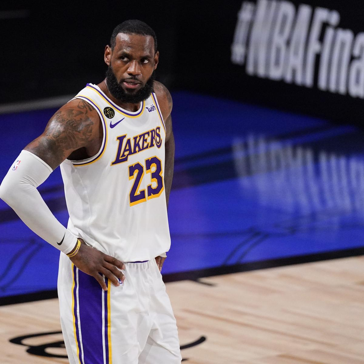 LeBron James and the NBA's All-Time Greatest Stars over 35