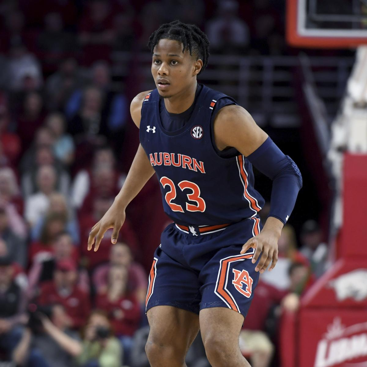 NBA Mock Draft 2020: Predictions for Isaac Okoro and Top Defensive Prospects