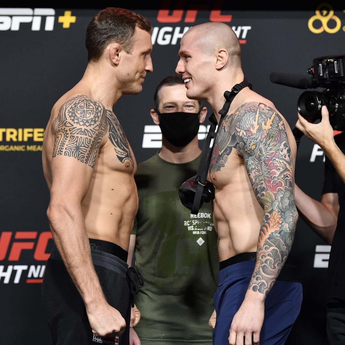 Marvin Vettori and the Real Winners and Losers from UFC on ESPN 19    Bleacher Report   Latest News, Videos and Highlights