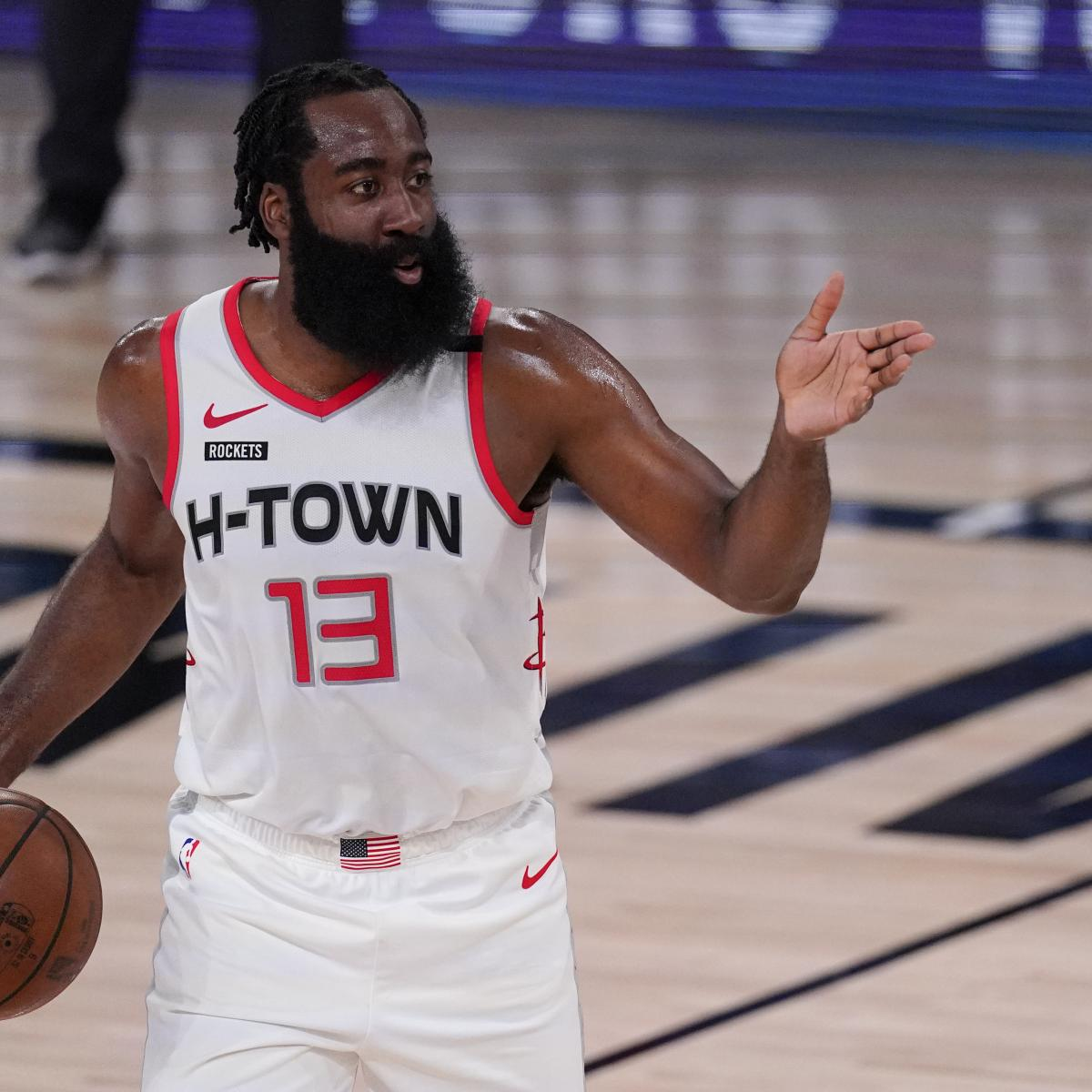NBA Rumors: Examining Trade Buzz on James Harden, Kyrie Irving and Ben Simmons thumbnail