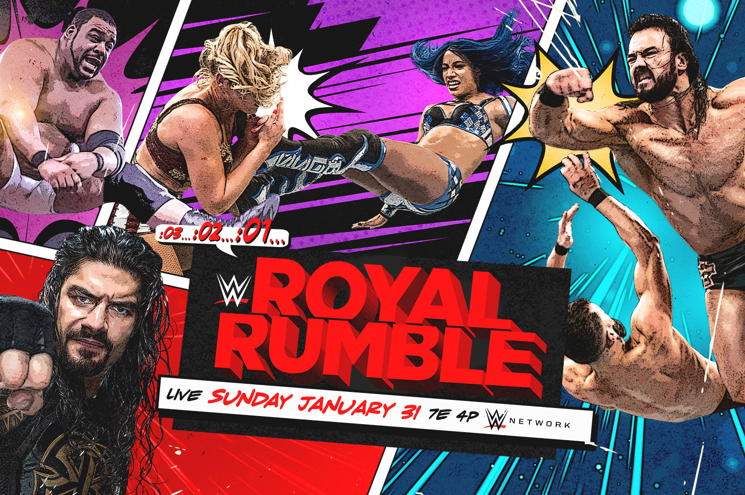 Wwe royal rumble live