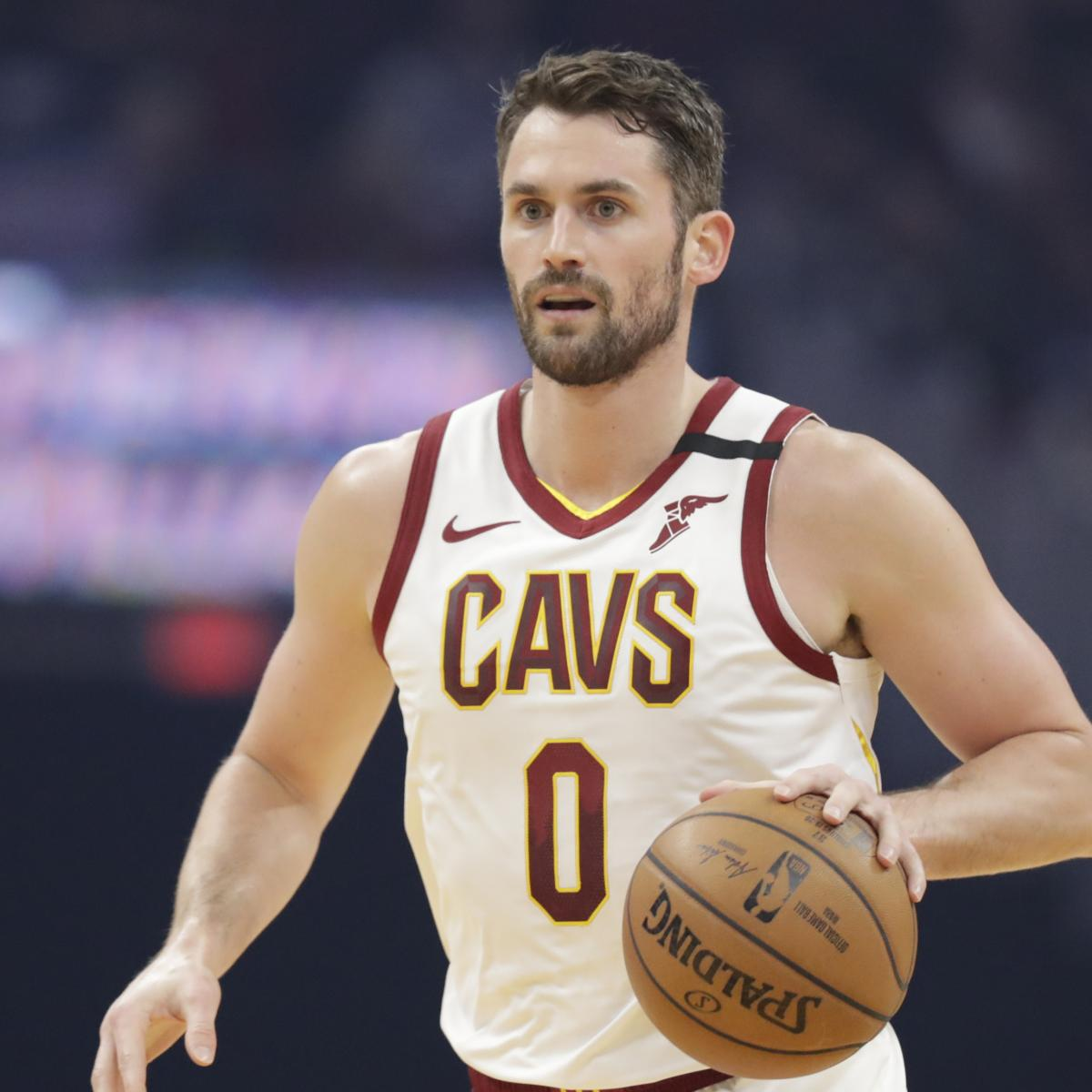 NBA Trade Rumors: Latest Rumblings on Kevin Love, Lauri Markkanen, JaVale McGee