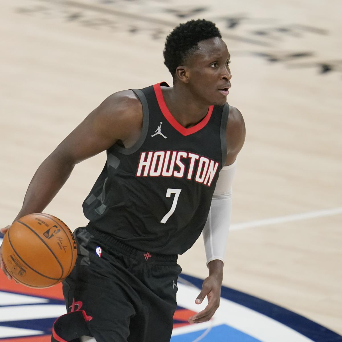 Trade Packages and Landing Spots for Houston Rockets Star Victor Oladipo - Bleacher Report