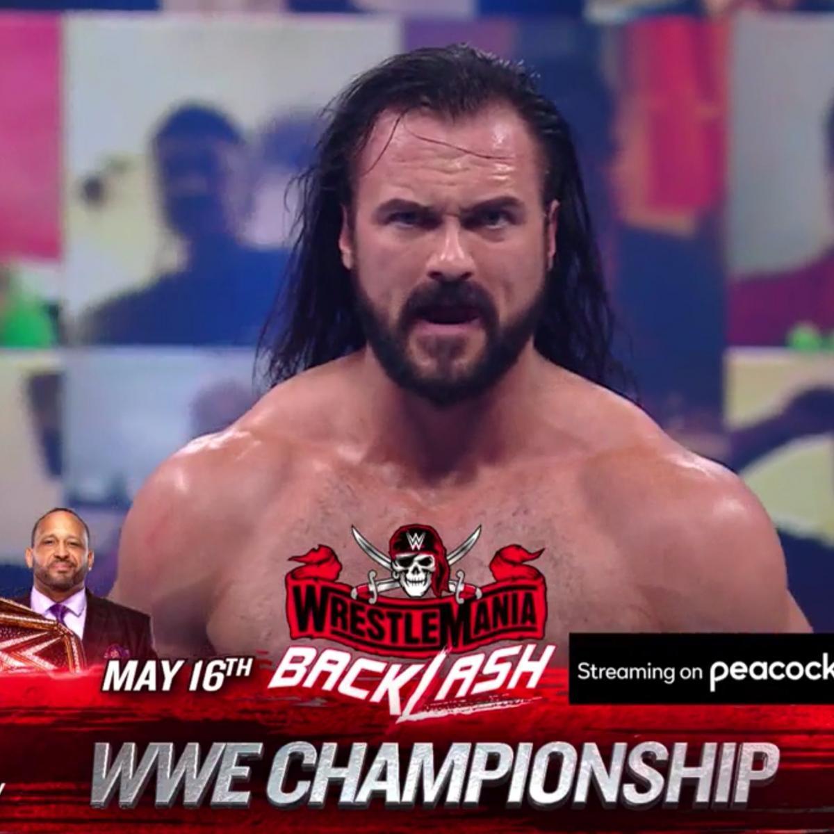 Lashley vs. McIntyre and WWE WrestleMania Backlash 2021 Match Card Predictions