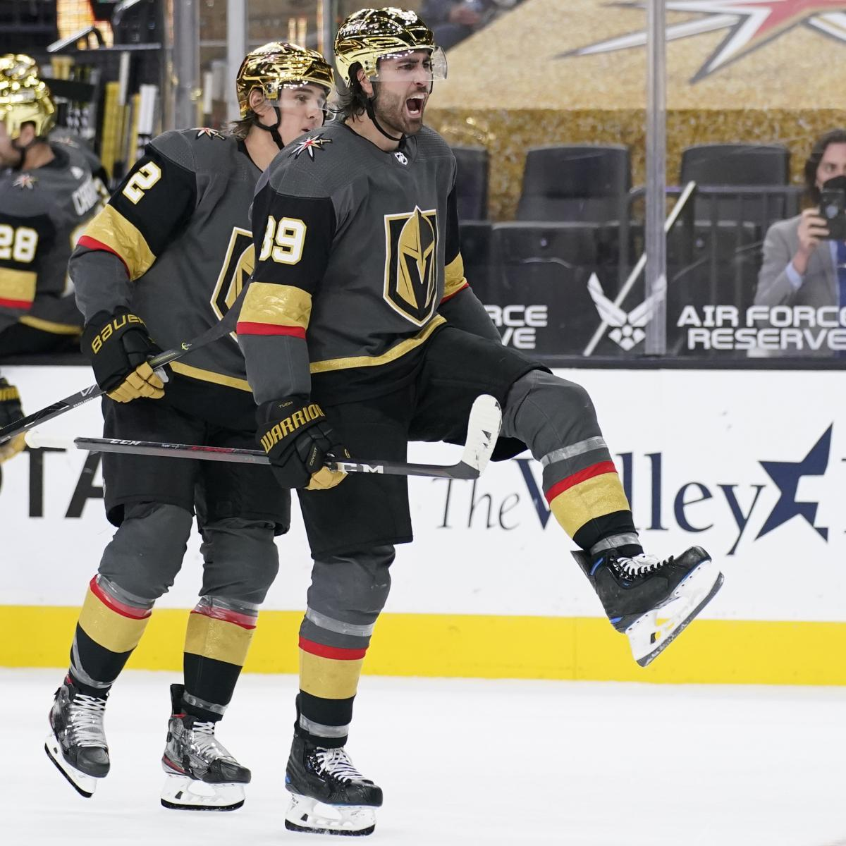 NHL Power Rankings: Red-Hot Golden Knights on Top; Sabres Out of the Basement