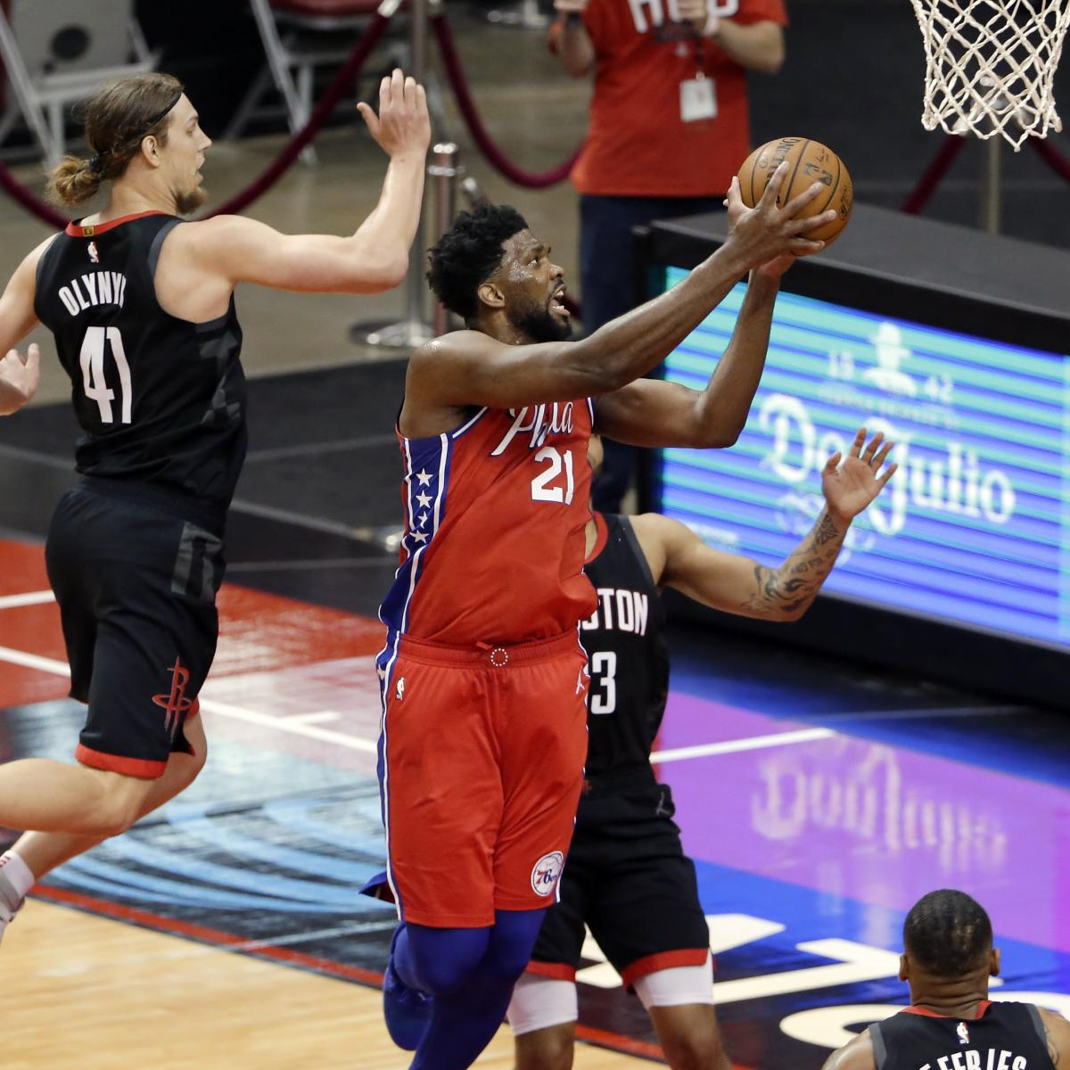 NBA Playoff Picture 2021: Joel Embiid, 76ers Continue Push for Top Seed in East thumbnail