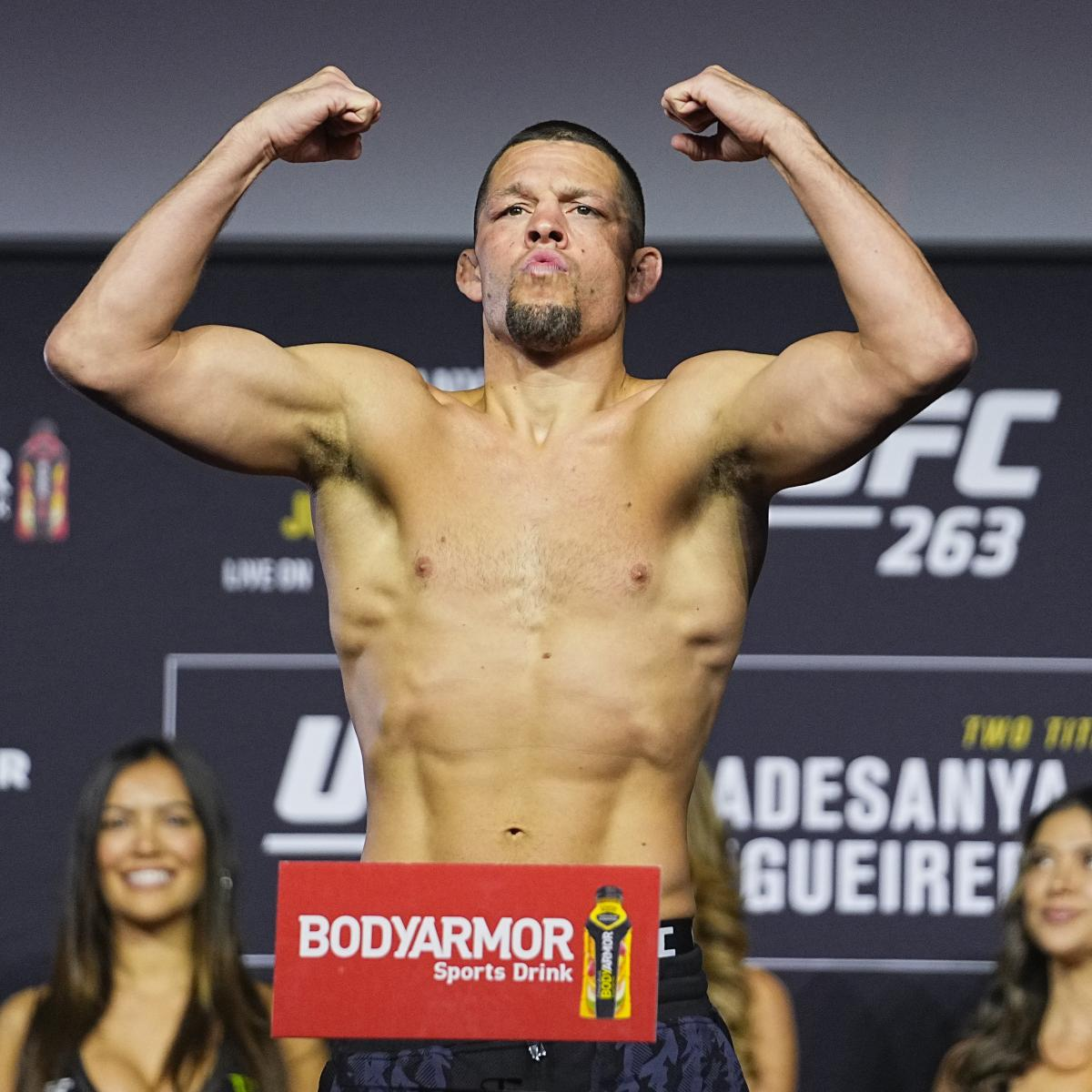 What's Next for Nate Diaz After Loss to Leon Edwards at UFC 263?