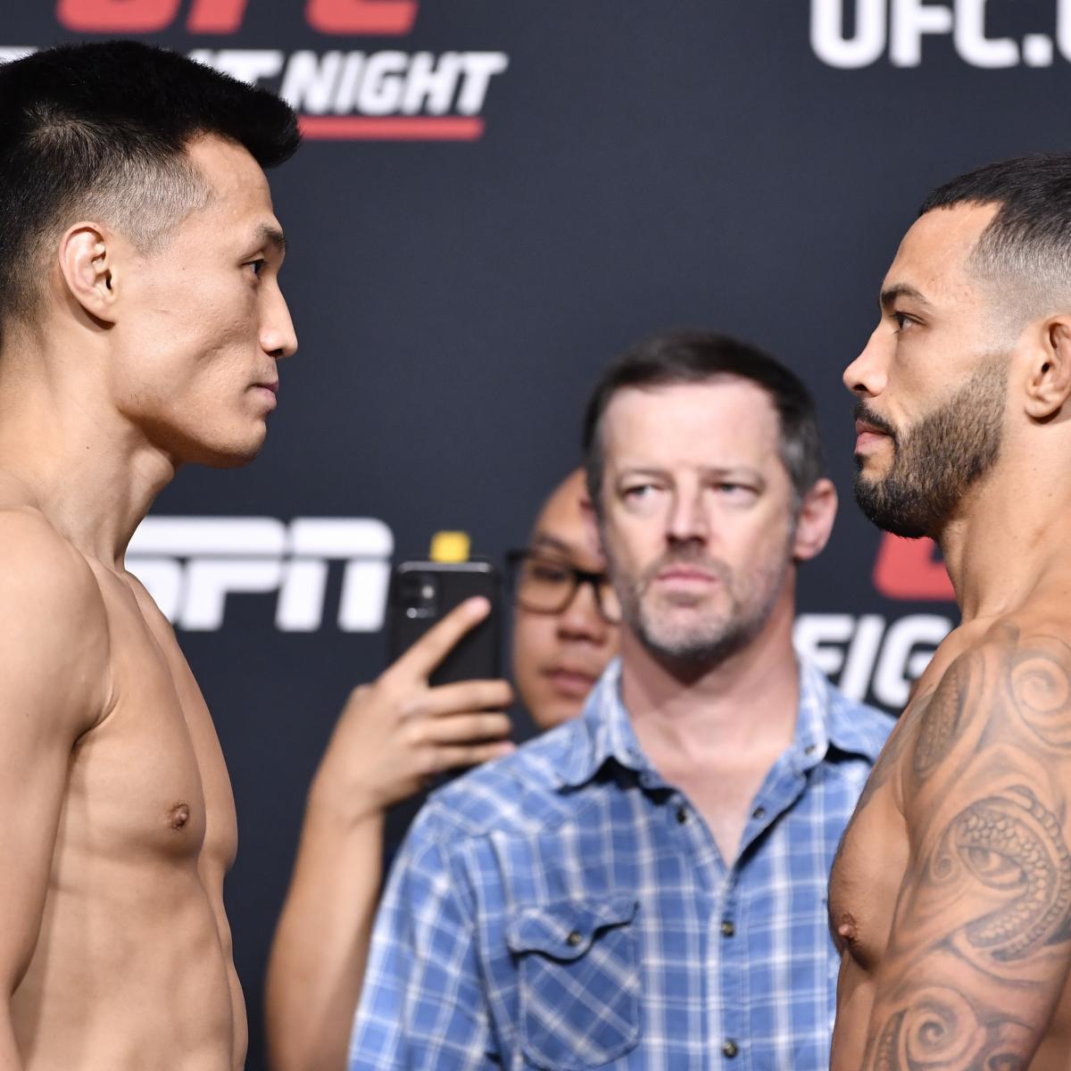 UFC Vegas 29: Korean Zombie vs. Ige Odds, Schedule, Predictions