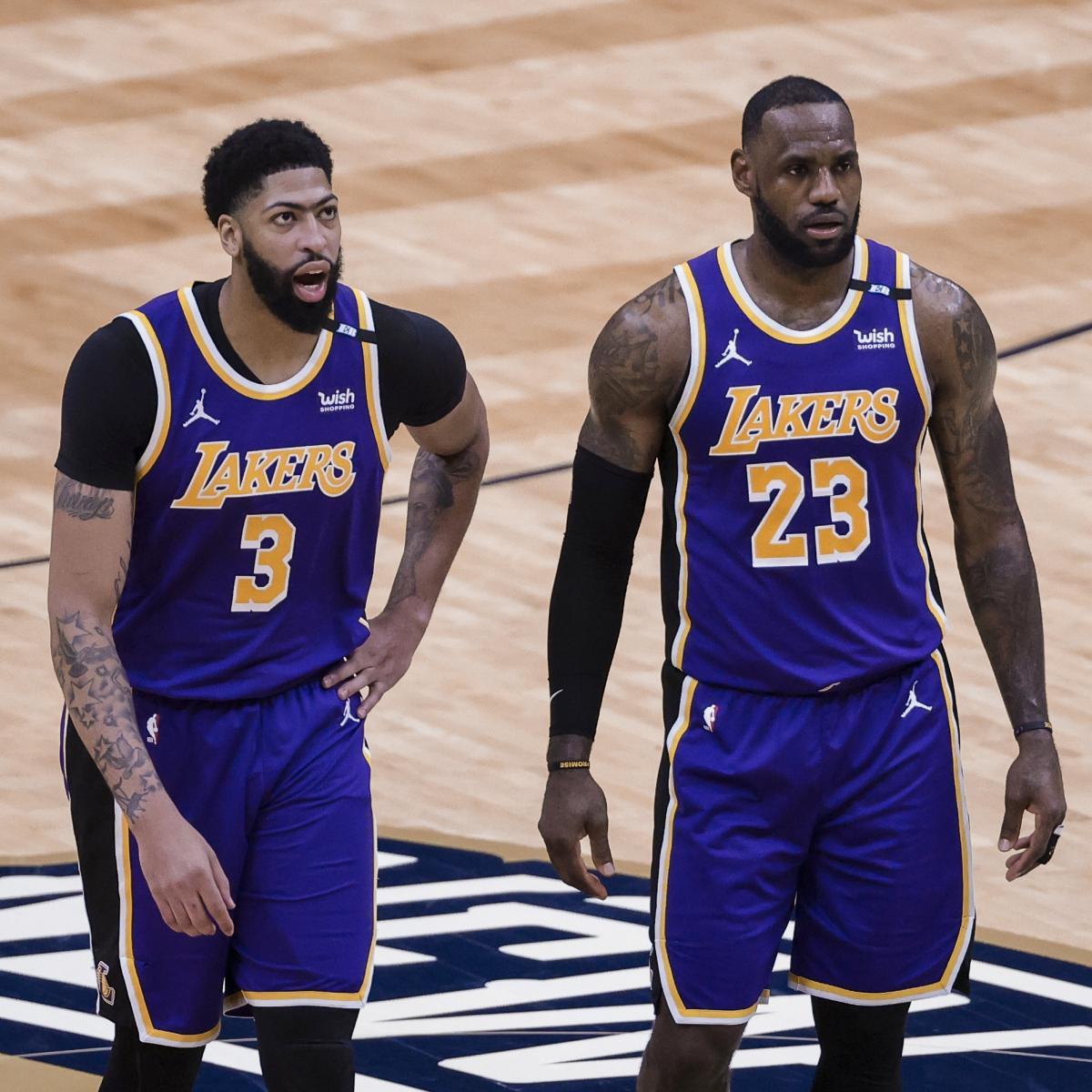 Lakers Rumors: Latest on LeBron James, Anthony Davis, Camp Invitations, More